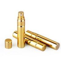 50piecesLot 5ml de parfum de parfum pulvérisateur Atomiseur de parfum UV Placant verre rechargeable bouteille de parfum vides cosmétiques
