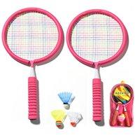 Alüminyum Alaşım Badminton Raketleri Erkek Kız Çocuk Hobi Tenis Raketleri Açık Eğlenceli Spor Eğlence Unisex Fitness Eğitim Şeyleri