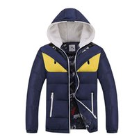 20119 Down New Style Young Men' s Cold Proof Cotton Padd...