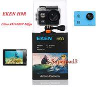 H9R Sports Caméra 2 Pouces Écran LCD 4K 170 ° Grand Angle WiFi Imperméable 1080p 60fps Vidéo Action Caméra de Plongée Mini DV Caméscope