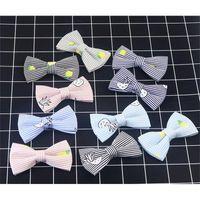 Mantieqingway Boy Bow Binding für Kind Hochzeit Print Cravat Kinder Bowties Baumwolle Leinen Bowknot Geschenk Noeud Papillon Gravata 200924