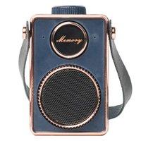 Altoparlanti portatili Altoparlante Bluetooth, Fashion Retro Wireless Speaker Mini Stereo 4. 0 Sound surround esterno