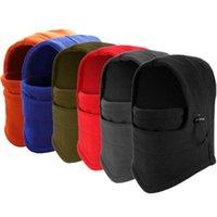 10 couleurs chaudes Chapeaux d'hiver en plein air Ski Balaclava Cyclisme Masque Scarf Sport équitation Ski Cap CYZ2847