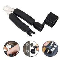 기타 문자열 winder 커터 브리지 핀 롤러 3-in-1 기타 전기베이스 우쿨렐레를위한 억제 도구