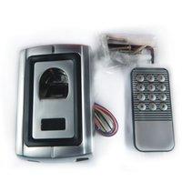 DC12V F007 معدن قذيفة نظام التحكم بصمات الأصابع +1 جهاز التحكم عن بعد (للمستخدمين المسجلين) قفل الباب الذكي