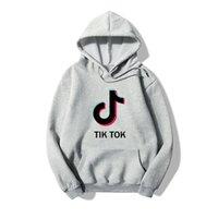 Tik Tok Tok Software 2020 Outono Nova Impressão Com Capuz Mulheres / Homens Roupas Populares Harajuku Casual Venda Quente Hoodies Moletom Plus Size 3XL Atacado