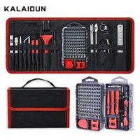 Комплект отвертки Kalaidun 135 в 1 прецизионный винт драйвера Torx бит магнитные биты DIY мобильный телефон ремонт ноутбука ручной инструмент комплект T200602