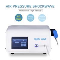 2021 Портативная физическая терапия Электрическое оборудование для красоты для красоты Shcock Wave Machine для лечения ED с 5 советами