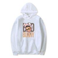 2020 Yeni Bad Bunny Hip Hop Hoodie Erkekler Kadınlar Kazak Kazak Koreli Giyim Pembe Kazak Harajuku Mujer bluza Damska X1022 Tops