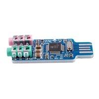 بطاقات الصوت مجانا سائق USB بطاقة USB CM108 رقاقة الأزرق