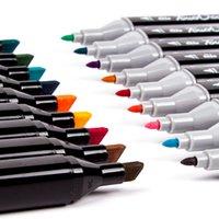 TouchCool 262 Цветной алкогольный акварельный эскиз маркер с двойным наконечником рисования искусства щетка ручка Y200709