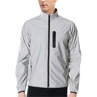 방수 반사 자전거 재킷 방풍 순환 재킷 긴 소매 저지 스포츠 셔츠 겨울 겨울 의류 사이클링 착용