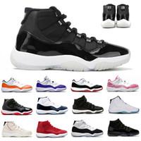 Jubilee 25th Yıldönümü Jumpman 11 Erkek Basketbol Ayakkabı 72-10 Bred Düşük Concord UNC 11 S Kapak Kıyafeti Erkek Kadın Eğitmenler Spor Sneakers