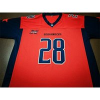 Benutzerdefinierte 421 Jugendfrauen XFL Houstons Rauhnecks 11 Phillip Walker 28 Harris Football Jersey Größe S-4XL oder Benutzerdefinierte Name oder Nummer Jersey