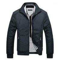 Мужские куртки черные тонкие модели куртка, продажа моды в европейском стиле мужской тонкий пальто Pook1