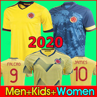 NEWEST 2020 Colombia away soccer jersey JAMES copa america c...