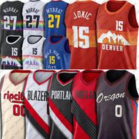 Nikola 15 Basquete Jokic Jersey Jamal 27 Murray Jerseys Damian 0 Lillard Jersey Carmelo 00 Anthony Jerseys Basketball Uniforme