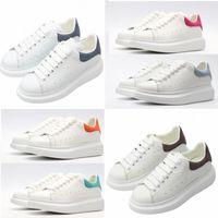 Alexander mcqueen mcqueens mc queen mqueen Top Quality with Box 2020 Designer Fashion Espadrille Mens Donne Piattaforma Sneaker Sneaker Sneakers Sneakers 36-45 # 512 U6T4 #