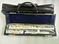 Серебряная флейта Юпитер JFL-511ES 16 отверстий Закрыто C Квочную флейту CUPRONICKEL Серебрионные флатуары Transversal Инструменты Музыкальная флейта и жесткая коробка