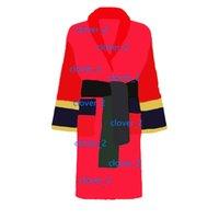 Designer di marca Donne Accappatoi Dormire Robe Unisex Cotton Sleepwear Sleepwear Night Robe Accappatoio di alta qualità Accappatoio classcial Robe di lusso molto hot klw1739