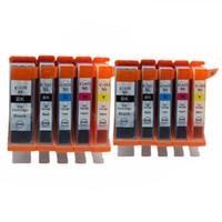 PGI-550 CLI-555 BK PGI550 PGI 550 cartuchos de tinta para Pixma MX-725 IX-6850 IP-8750 mg 5450 5550 6350 Impressora a jato de tinta