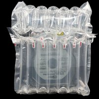 100pcs Vin rouge Bubble Bubble Bubble Gonflable Boumpon Coussin de tampon Grande protection antichoc logistique Packaging Ballon Site Mail