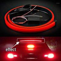 비상 조명 슈퍼 밝은 붉은 흐르는 깜박이는 자동차 세 번째 브레이크 라이트 2835 SMD Anti-Collision Strobe 12V 신호 안전 램프 제동