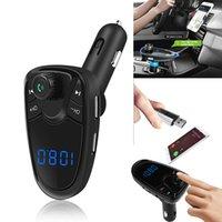 Bluetooth Автомобильный FM-передатчик FM MP3-плееры Модулятор беспроводной громкой связи Автомобильные комплекты Dual USB зарядное устройство Поддержка TF карты U диск
