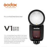 Godox V1C v1f V1N V1O V1P V1S 2.4GL HSS Flash Speedlite Para Lumix Panatex Pansonic