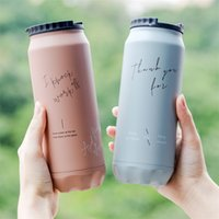 Ldfchennel 500ml aço inoxidável frasco de vácuo isolado café copo térmico creativo viajar viagem de carro de carro de carro de carro canecas 201109