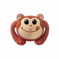 Grad-Silikon Lustige Baby-Schnuller Dummy Nippel Beißringe Appease Spielzeug Kleinkind Pacy KFO-Sauger für Baby-Schnuller Geschenk 12EL #