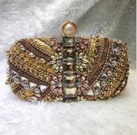 Abendtaschen Damen Perlen Tasche Weibliche handgemachte Kupplung Mädchen Diamant Bankett Handtasche für Party Antique Cheongsam Kleid Tasche1