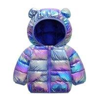 طفل الفتيات سترة 2020 الخريف الشتاء سترة للبنات معطف الاطفال الدافئة مقنعين قميص ملابس الأطفال الرضع الفتيات معطف