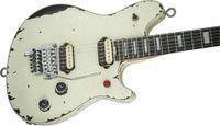 Edad banda Eddie Van Halen Lobo Blanco Guitarra de la vendimia Relic guitarra eléctrica Interruptor rojo trémolo