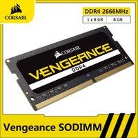 Vengeance RAM DDR4 8 Go 16 Go 2666MHz SODIMM Mémoire Notebook Memoria RAM DDR4 260 Pin 1.2V pour ordinateur portable SODIMM Module