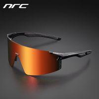NRC 3 렌즈 UV400 사이클링 선글라스 TR90 스포츠 자전거 안경 MTB 산악 자전거 낚시 라이딩 안경 Q1224