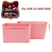 يناسب NEO NOE إدراج أكياس المنظم ماكياج حقيبة يد تنظيم السفر الداخلية محفظة المحمولة مستحضرات التجميل قاعدة المشكل ل Neonoe T200106