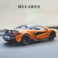1:32 McLaren 600LT Sports Car Alloy Car Diecasts & Toy Vehicles Metal Toy Car Model High Simulation Collection Kids Toys Gifts X0102
