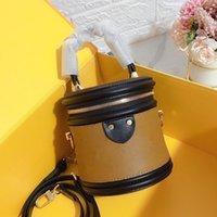 Sacos de ombro das mulheres carta impressão cilindro design moda senhora cordão superior lazer de alta qualidade bolsa bolsa