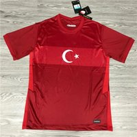 Turquie Euro 2020 Accueil Kits rouges Maillot de Foot Turquie Away White 2021 Shirts de football Top shirts