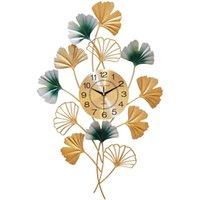 Orologi da parati Grande orologio di lusso orologio creativo arte silenzioso design cinese al quarzo soggiorno retroj de pared decorazione della casa DB60WC