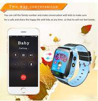 الأطفال الذكية ووتش sos الهاتف ووتش smartwatch للأطفال مع بطاقة sim صورة للماء ip67 الاطفال هدية ل ios الروبوت شحن مجاني