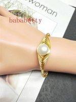 Beaded, Strands Natural Freshwater 12-13MM White Purple Edison Pearl Handmade Bracelets Can Be Resized1