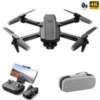 드론 미니 드론 XT6 4K 1080P HD 카메라 와이파이 FPV 공기 압력 고도 접이식 Quadcopter RC 아이 장난감 Gift1