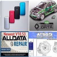 2020 Hot Auto Repair Soft-ware alldata 10.53 vivid workshop atsg USB 3.0 in 750GB hdd