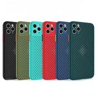 1.8MM التنفس حالة الهاتف المحمول ل iPhone 6 7 8 شعرية تبديد الحرارة ل 6P / 6SP / 7P / 8P TPU المواد آيفون 11 XR