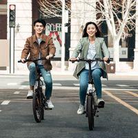[EU IN Stock] Himo Z20 킥 스쿠터 접이식 전기 월드 바이크 Z20 Ebike 250W 모터 20 인치 그레이 화이트 36V 10Ah 전기 자전거
