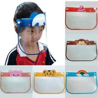 1pc Kids Full Face Shield Adjustable Protective Mask Anti Dr...