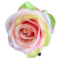 Criativo Artificial Rose 29 Cores 10 Cm Simulação Rosa Cabeças Festa de Casamento Decoração Falsa Flor Decorações de Casa T9I00967 204 G2
