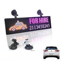 12V Coche P4MM 32 * 128 Pixels RGB LED Signo a todo color Información de desplazamiento programable Multi-Funtio LED Panel de visualización de taxi1